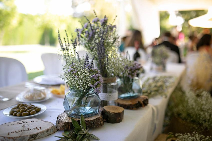 decoracion mesa presidencial boda