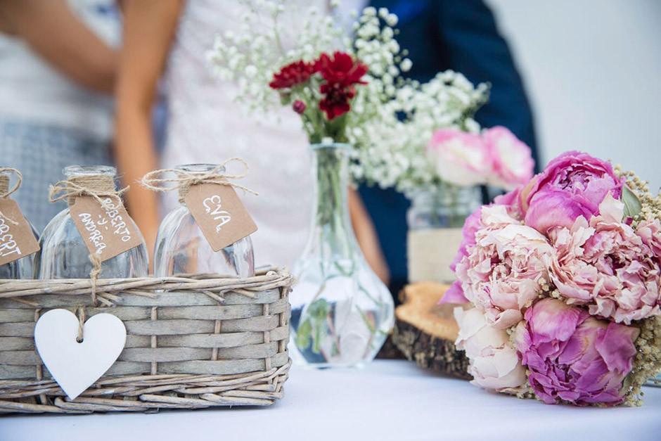 mesa altar boda