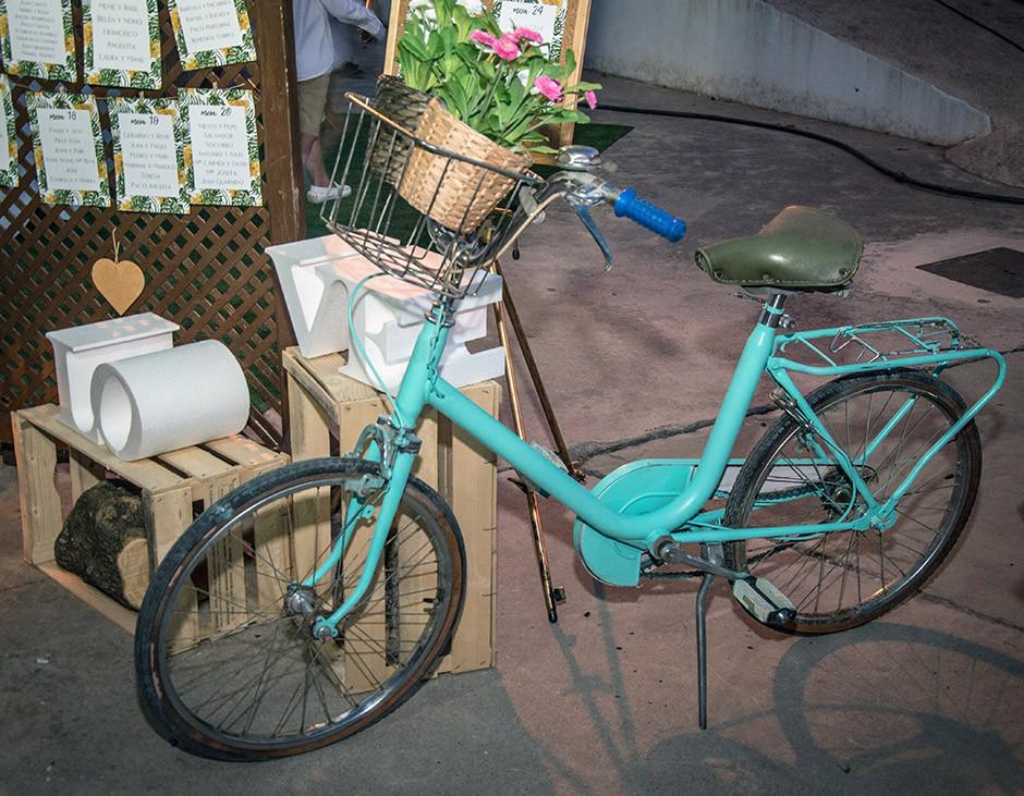 seating boda bicicleta