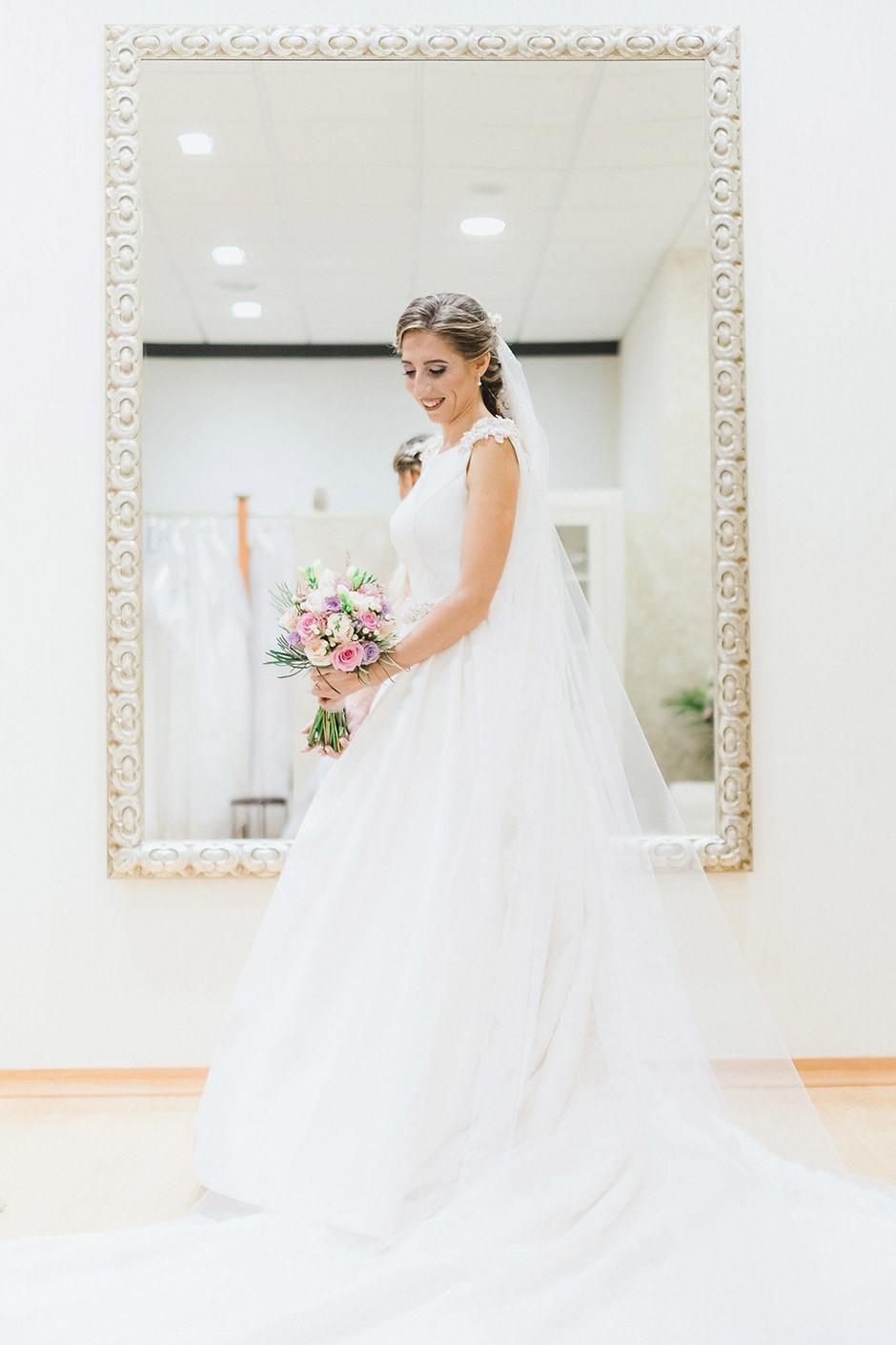 vestido novia forma a