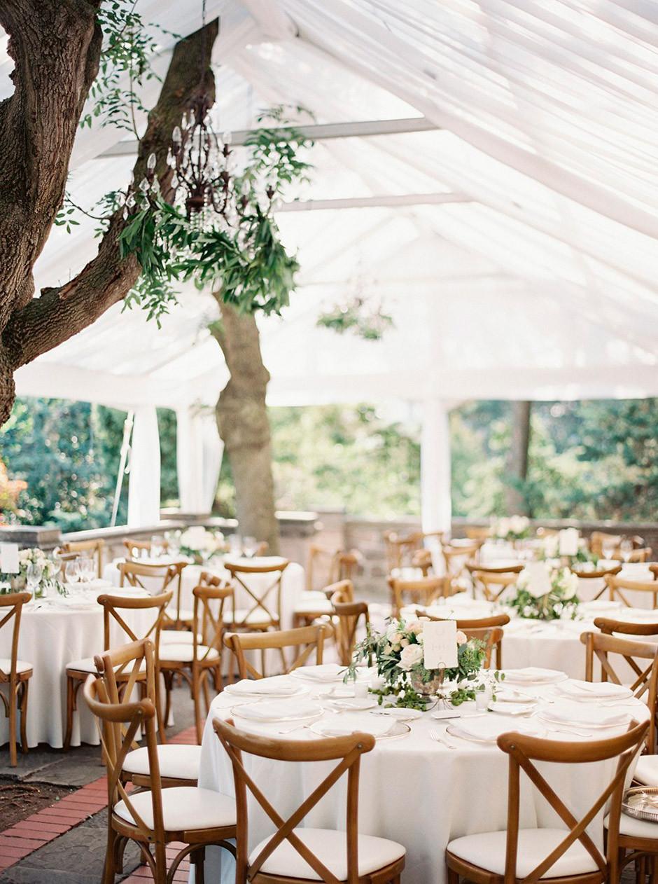 mesas redondas boda
