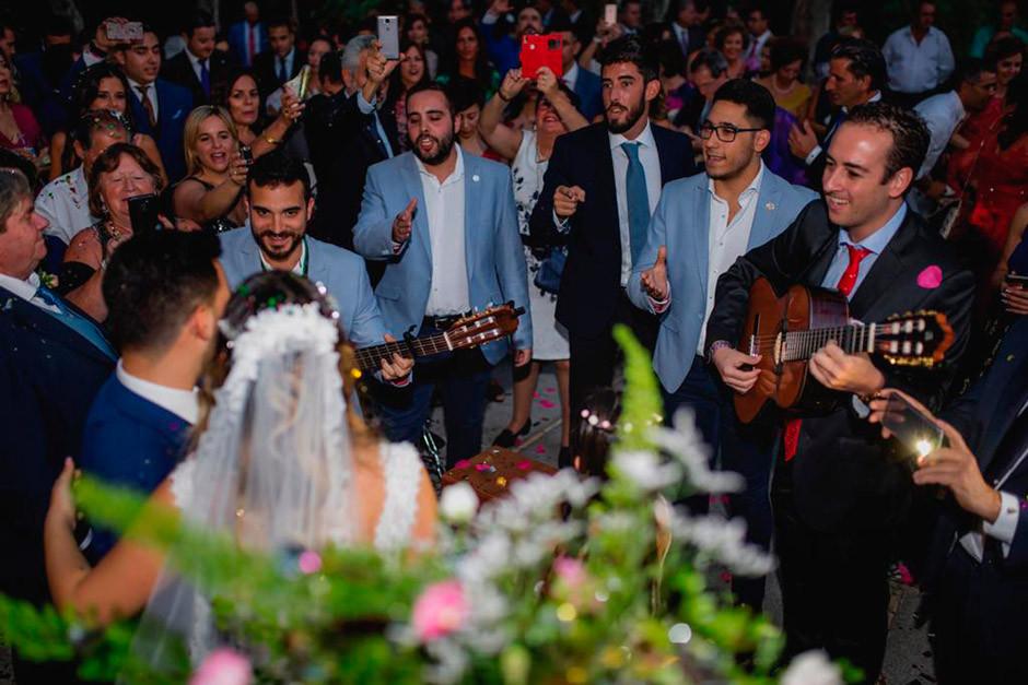 comparsa boda