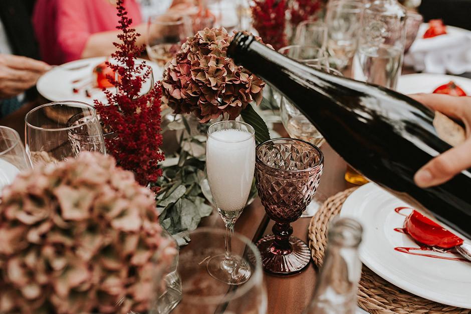champán boda