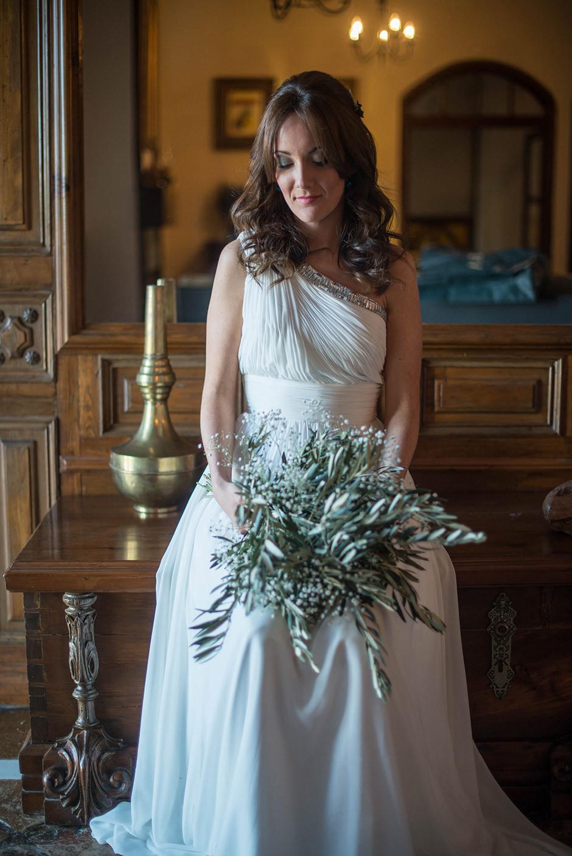 ramo novia rama olivo