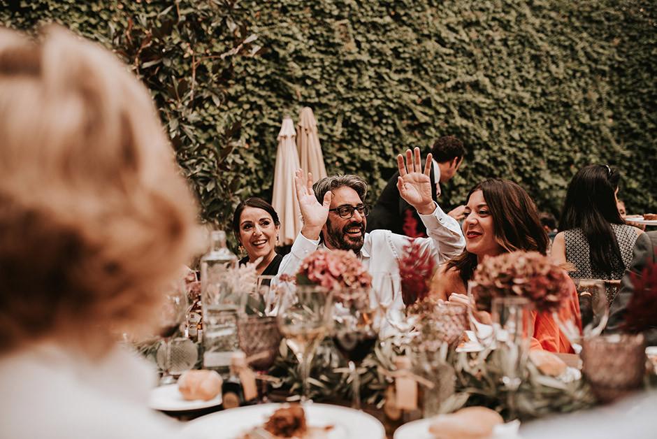 invitados banquete