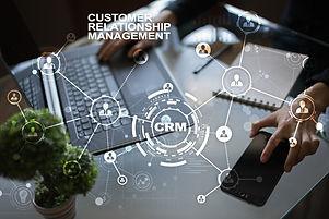 CRM. Customer relationship management co