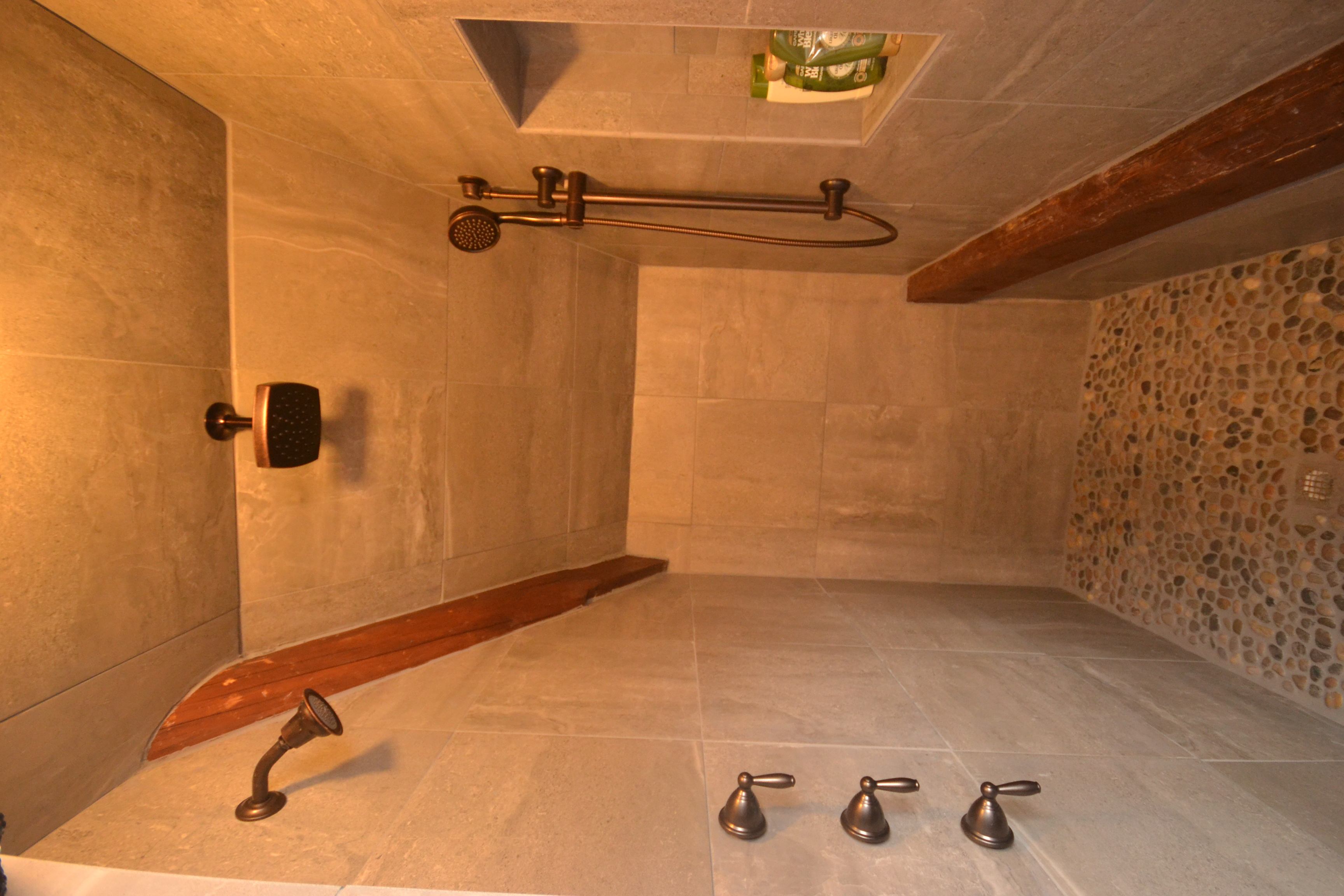 Three-Headed Shower