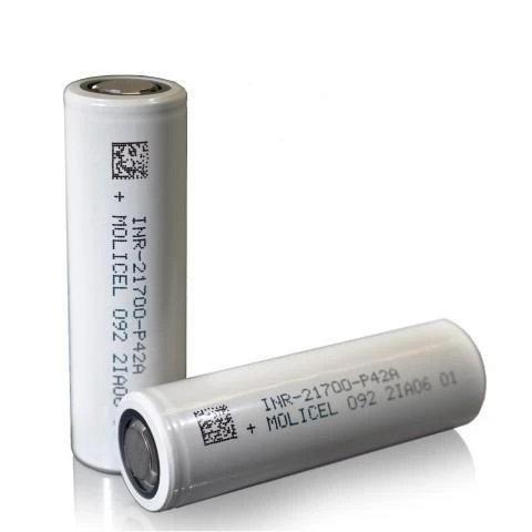 Molicel P42A 21700, 30 Amp, 4200mAh