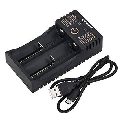 LiitoKala Lii-202 USB Smart Universal Charger