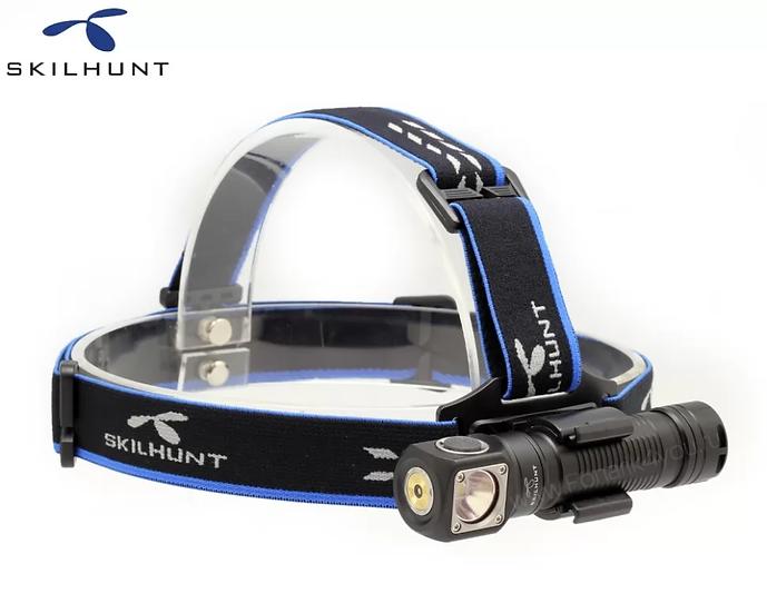 Skilhunt H04R RC, Cree XML2, 1000 Lumens, Magnetic Charging