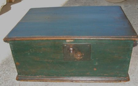 Antique Pine Bible Box