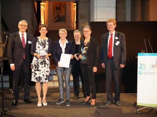 Auszeichnung für das Projekt KOMMA