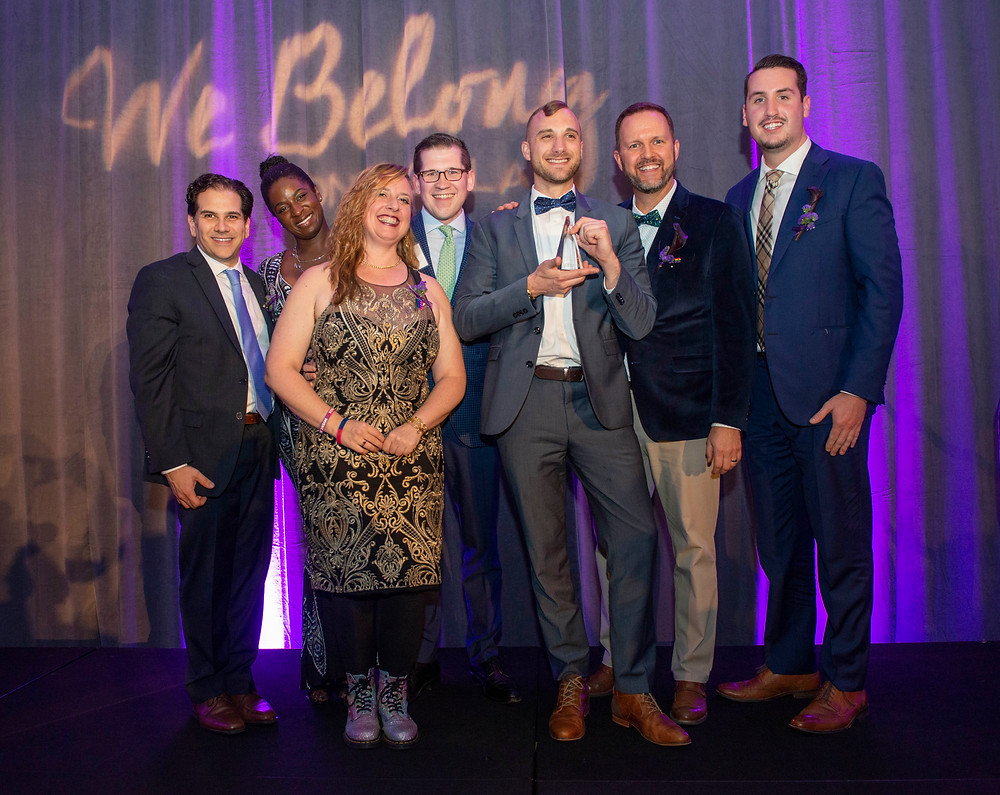 2018 ONE Council at the ONE Gala with MOTY award winner, Michael Oberender