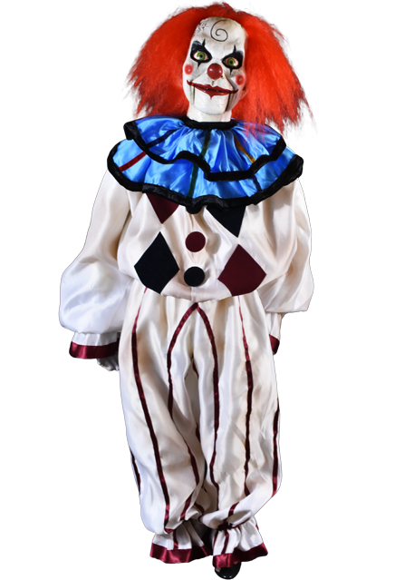 "DEAD SILENCE – MARY SHAW CLOWN PUPPET PROP (47"")"