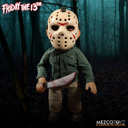 "Mezco – Friday the 13th 15"" Mega Jason with Sound Feature"