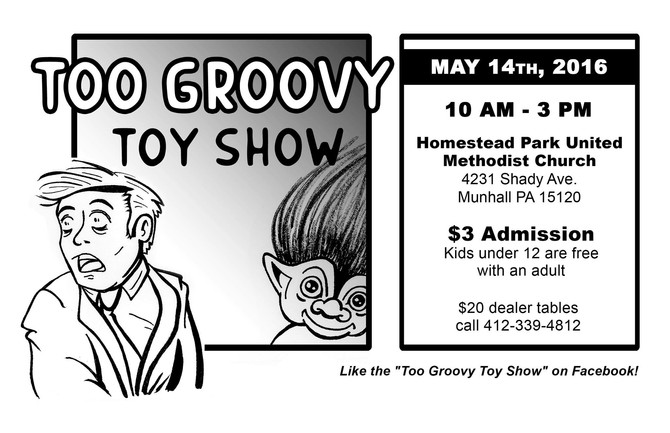 Time Bomb Toys will be at the Too Groovy Toy Show this May!