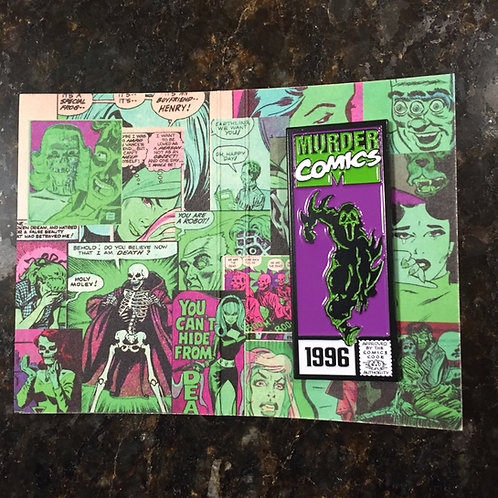 Murder Comics – Ghostface Enamel Pin