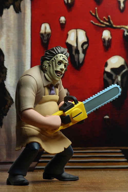 "NECA Toony Terrors – Leatherface 6"" Scale Action Figure"