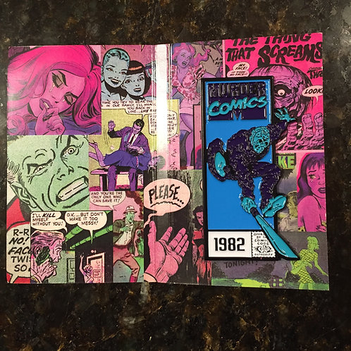 Murder Comics – Jason Voorhees (Video Game Variant) Enamel Pin