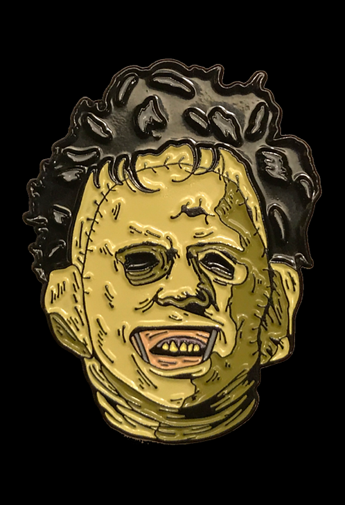 The Texas Chainsaw Massacre – Leatherface Enamel Pin