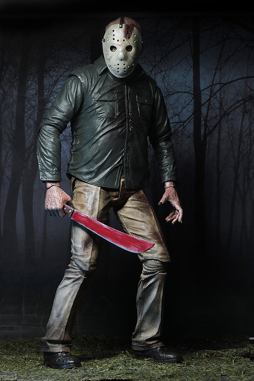 "NECA Friday the 13th Part 4 – Jason Voorhees 18"" Action Figure (1/4 Scale)"