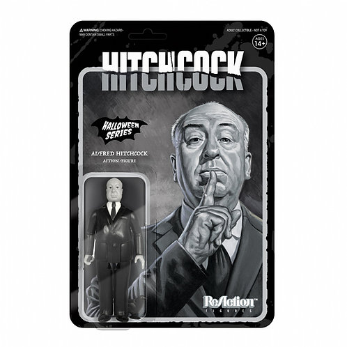"Super7 – Alfred Hitchcock (Grayscale) 3.75"" ReAction Figure"