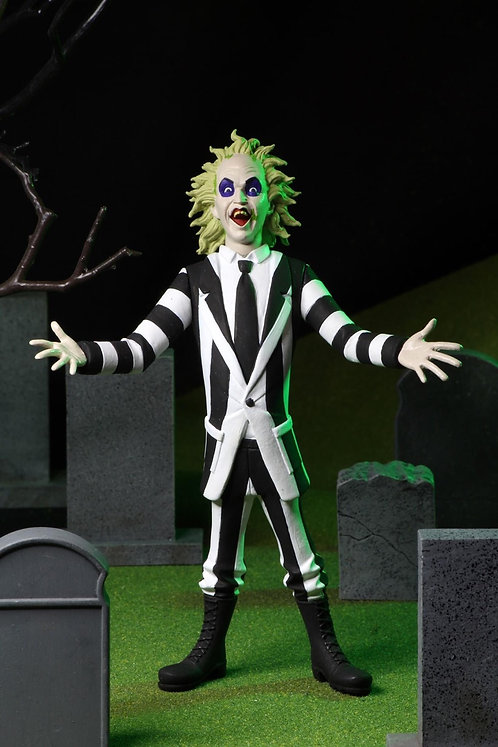 "NECA Toony Terrors – Beetlejuice 6"" Scale Action Figure"