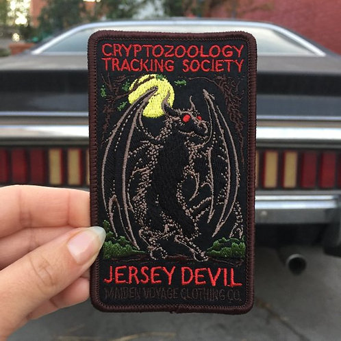 Jersey Devil – Embroidered Cryptozoology Patch