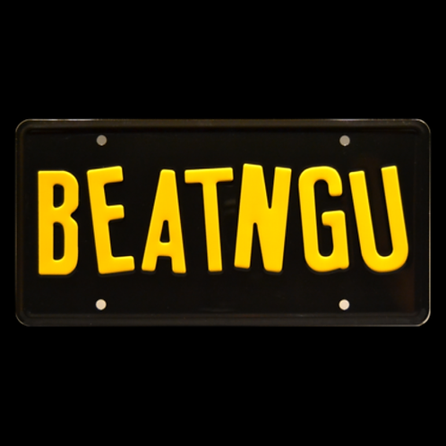Jeepers Creepers – Chevy COE Truck BEATNGU Metal Stamped Replica License Plate