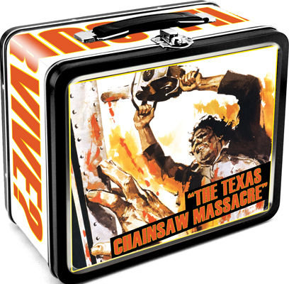 The Texas Chainsaw Massacre Retro Tin Lunch Box