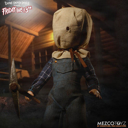 Mezco x Living Dead Dolls – Friday the 13th Part II Deluxe Jason Voorhees