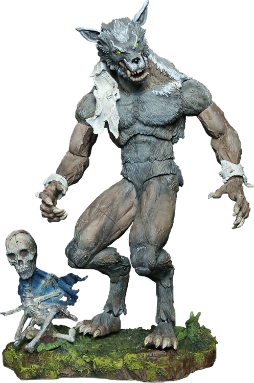 "Creatureplica - Louisiana Rougarou 9"" Action Figure"