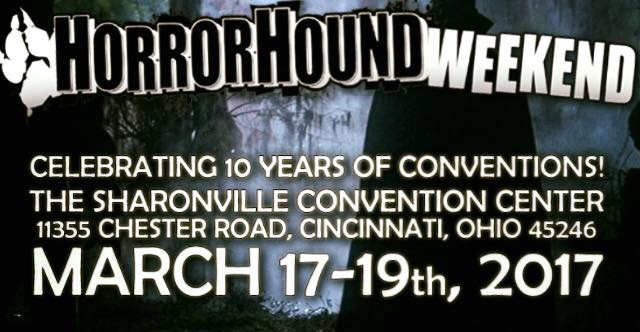 Visit us at HorrorHound Weekend in Cincinnati this March!