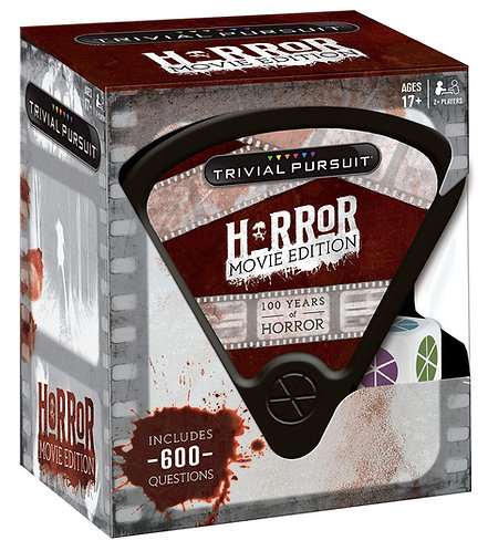 Trivial Pursuit – Horror Movie Edition (600 Questions)