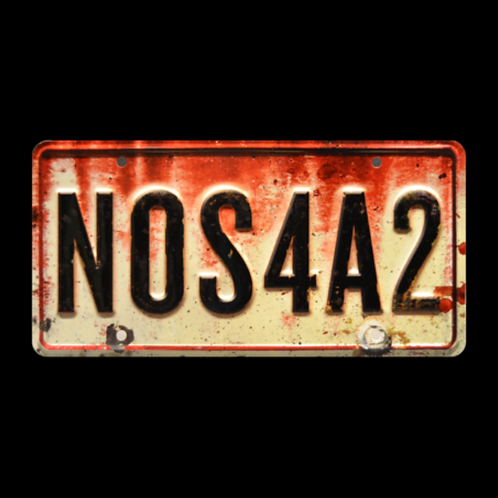 NOS4A2 – Rolls-Royce Wraith NOS4A2 Metal Stamped Replica License Plate