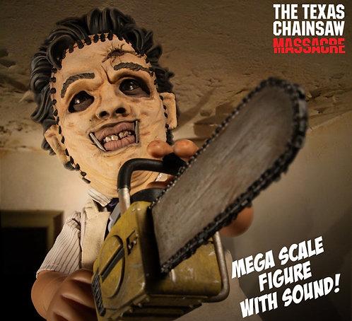 "Mezco – The Texas Chainsaw Massacre 15"" Mega Leatherface with Sound Feature"