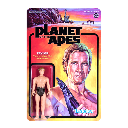 """Super7 – Planet of the Apes Taylor 3.75"""" ReAction Figure"""