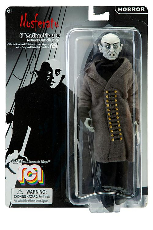 "Mego – Nosferatu Count Orlok 8"" Clothed Action Figure"