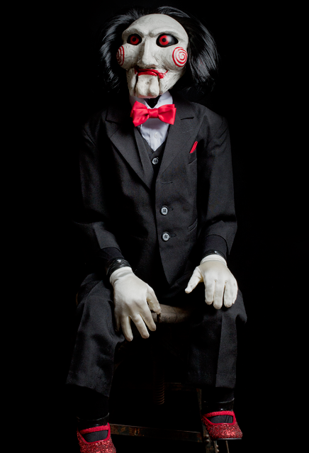 "SAW – BILLY PUPPET LIFESIZE PROP (47"")"