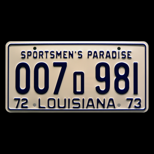 Jaws – Shark Autopsy Scene 007o981 Metal Stamped Replica License Plate