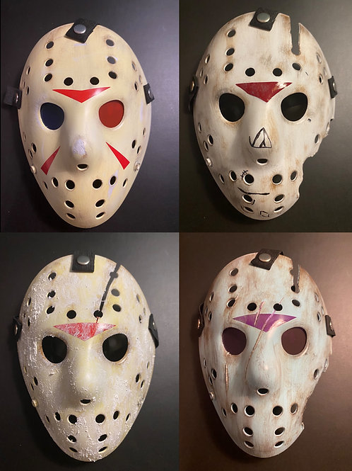 FRIDAY THE 13TH – CUSTOM JASON VOORHEES MASKS BY 13X STUDIOS (2020 EDITIONS)