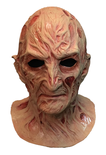 A NIGHTMARE ON ELM STREET 4:  THE DREAM MASTER – DELUXE FREDDY KRUEGER MASK