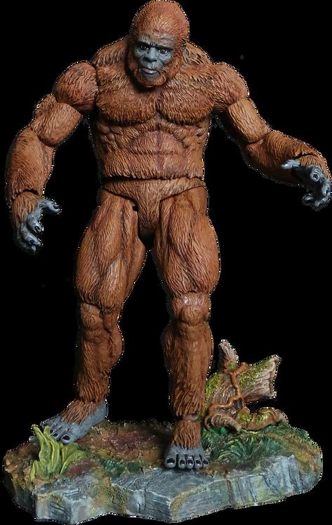 """Creatureplica - North American Sasquatch 9"""" Action Figure"""