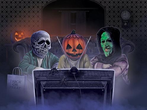 """Spook House Studios – The Big Giveaway Art Print (18"""" x 24"""")"""