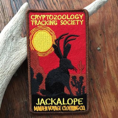 Jackalope – Embroidered Cryptozoology Patch
