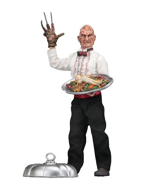 """NECA Nightmare on Elm Street Part 5 – Chef Freddy 8"""" Clothed Action Figure"""
