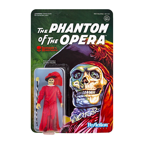 "Super7 – Universal Monsters The Masque of the Red Death 3.75"" ReAction Figure"