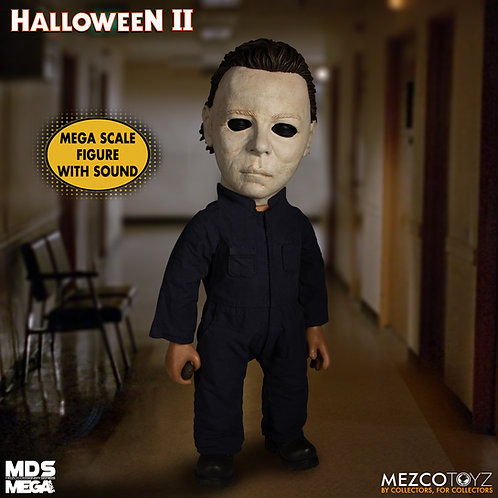 """Mezco – Halloween 2 (1981) 15"""" Mega Michael Myers with Sound Feature"""