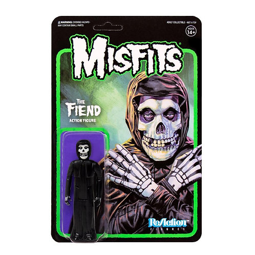 "Super7 – Misfits The Fiend (Midnight Black) 3.75"" ReAction Figure"