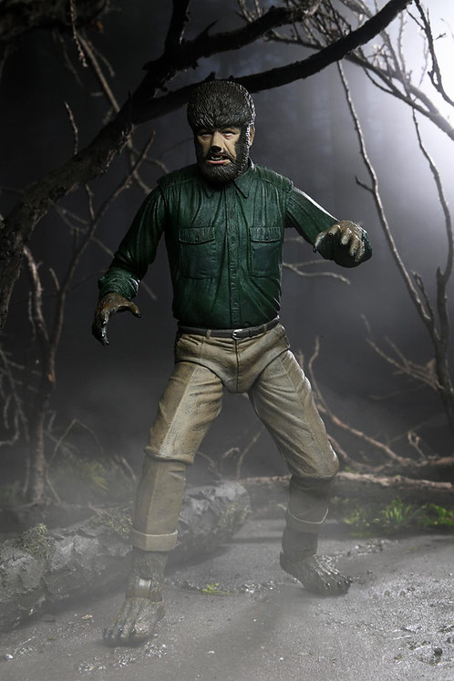 """NECA Universal Monsters – Ultimate Wolf Man 7"""" Scale Action Figure"""
